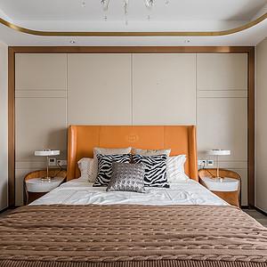 康城国际现代风格卧室