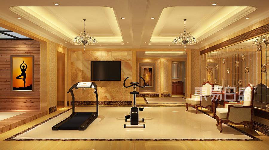 健身房欧式古典装修效果图