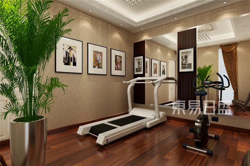 现代简约 - 红星国际现代风格健身房装修效果图