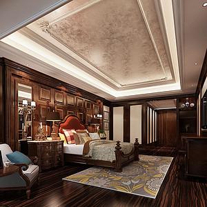 三江城欧式卧室