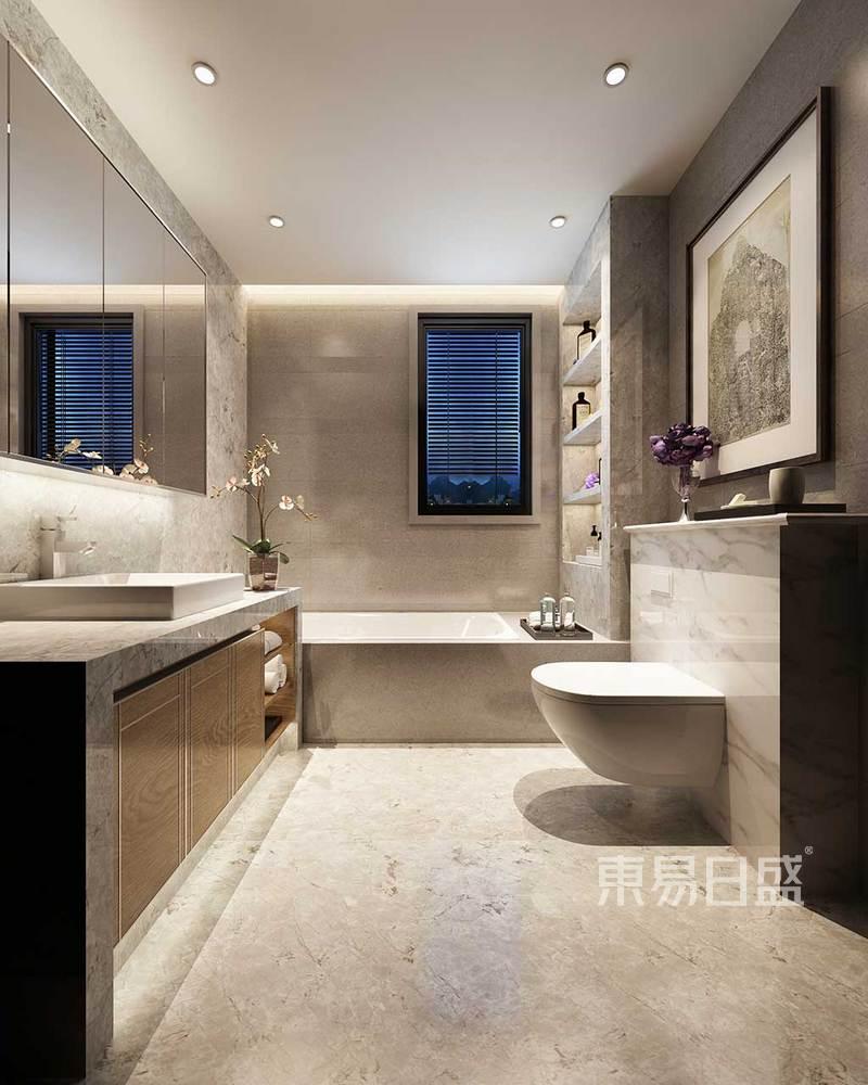 首页 室内装修效果图 > 次卫木纹砖墙地一体,使整个空间舒适明   所属