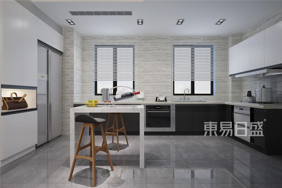 三居室-北欧-厨房效果图