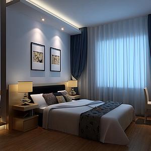 地中海风格装修效果图-卧室