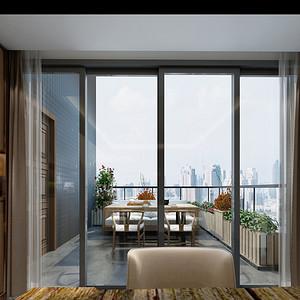现代简约风格 阳台装修效果图片