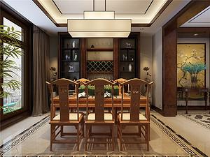中式风格--餐厅