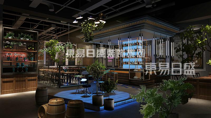 其他- 工业复古风格-餐厅-装修效果图