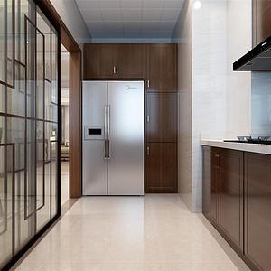 格调绮园新中式风格厨房装修效果图