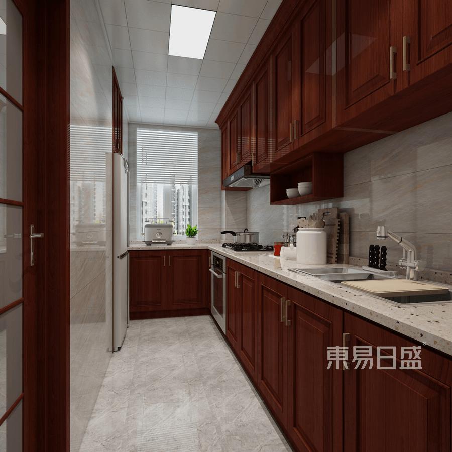 二居室-中式-效果图