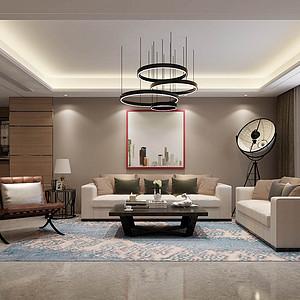 安平博雅庄园-四居室-现代简约风格
