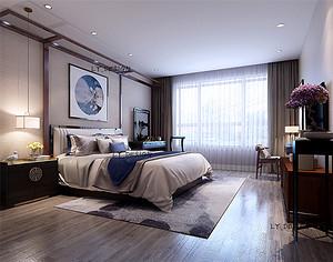 新中式风格--卧室