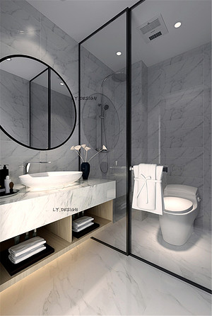 新中式风格--卫生间