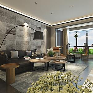 东润泰和现代简约风格客厅