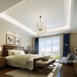 卧室简洁典雅温馨舒适