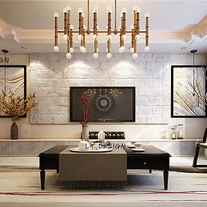新中式风格--客厅