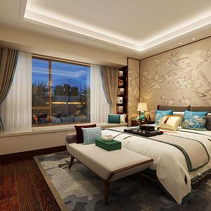 新中式 闲适静逸卧室