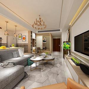 华荣公寓 现代简约 78平米