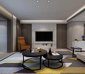 现代新极简风格客厅装修设计