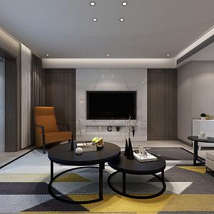 未来华庭现代新极简风格200㎡五室两厅