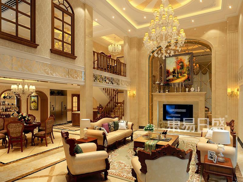 350㎡别墅欧式风格案例