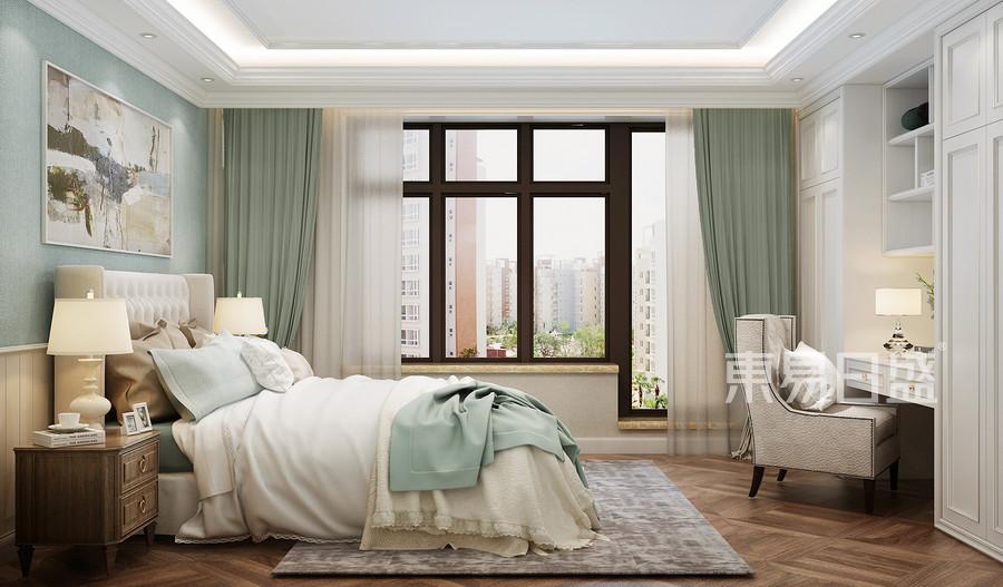 欧式风格卧室装修效果图效果图_2018装修案例图片