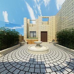 现代简约-北院庭院