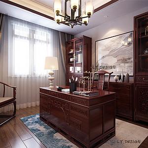 新古典风格--书房