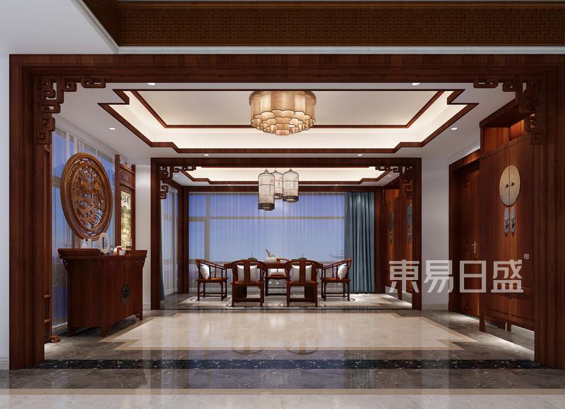 新中式 - 餐厅装修效果图 现代中式风格装饰