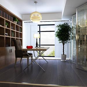 现代新极简风格书房