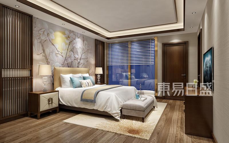 新中式 - 龙湫湾新中式风格案例卧室效果图