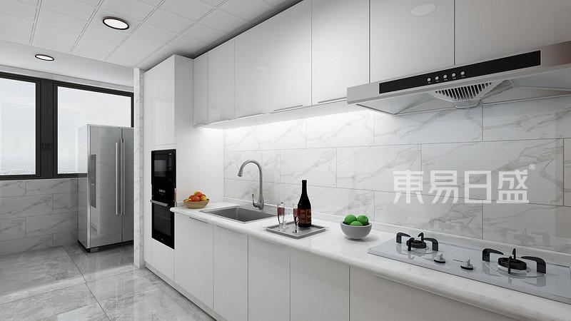 新中式-厨房效果图_装修效果图大全2018图片 1227420