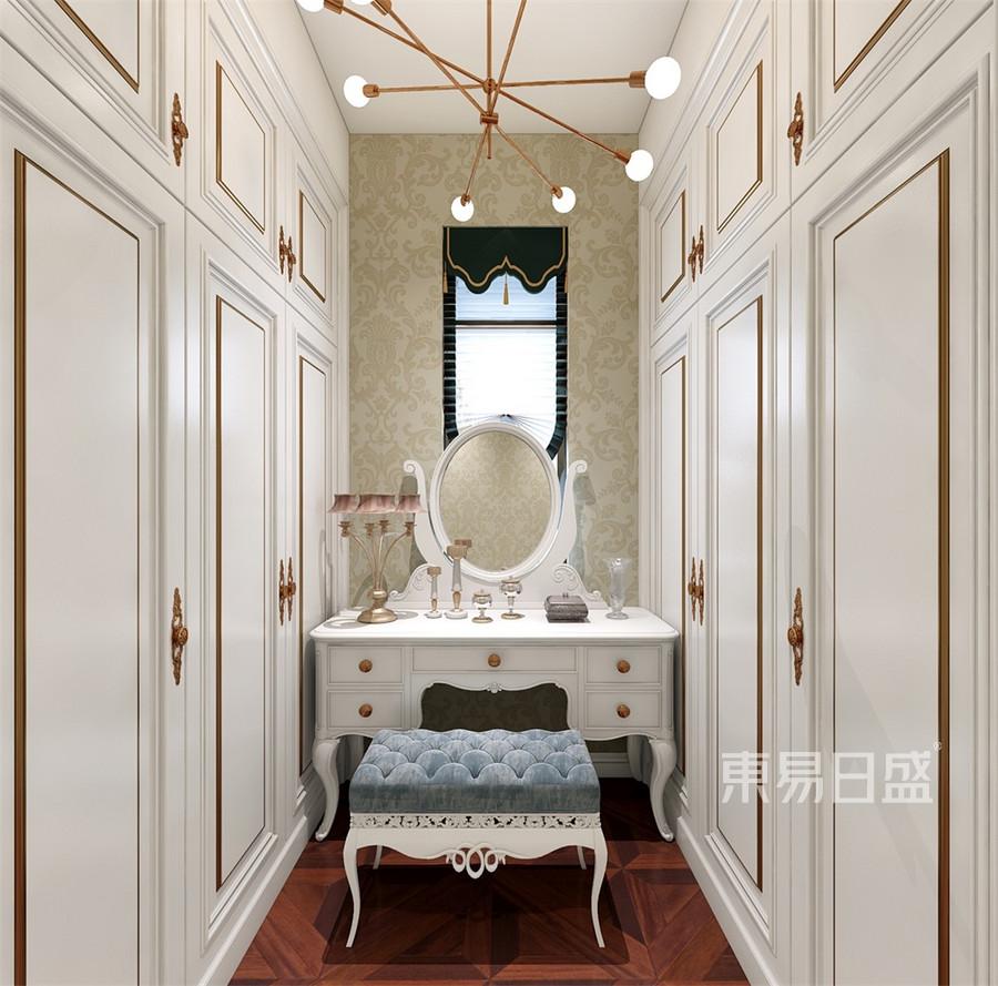 别墅-欧式古典-衣帽间-效果图效果图   分享  收藏  空间  风格 元素