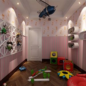 儿童游乐区装修效果图