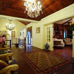 客厅自然、怀旧、舒适