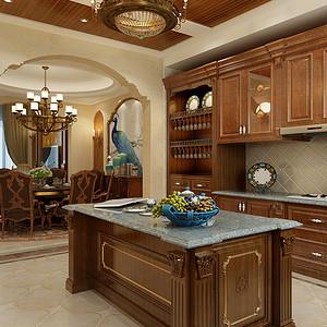 江阴院子 美式风格 厨房