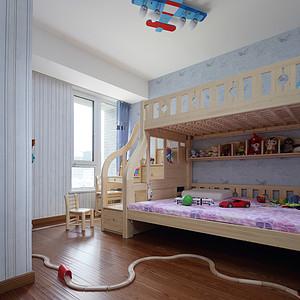 复式户型儿童房装修效果图