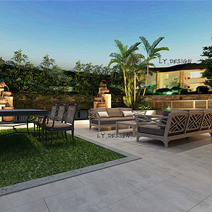 现代风格--庭院