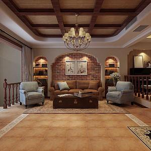 国赫澜山-五居室-美式风格