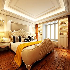 轻奢温馨卧室