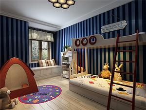 美式风格--儿童房