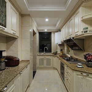 厨房古典风格装修实景图