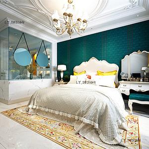欧式风格--卧室