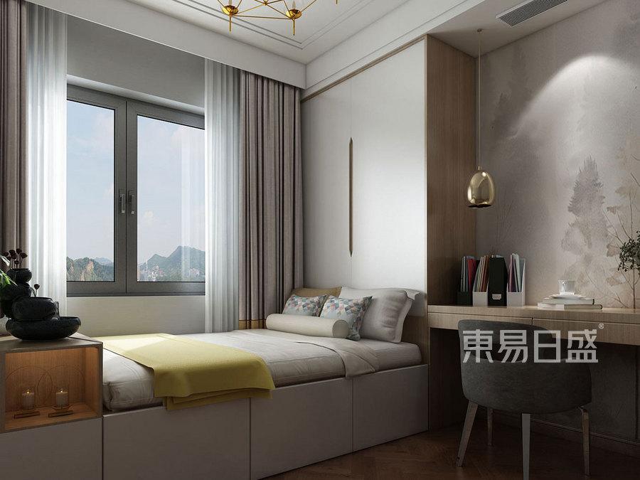 204㎡五居室 新中式风格 儿童房装修效果图