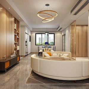朗基·御今缘130㎡四居室现代轻奢风格