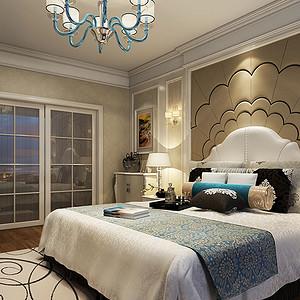 简欧风 简洁卧室