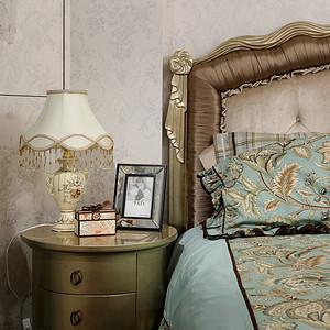 卧室古典风格装修实景图