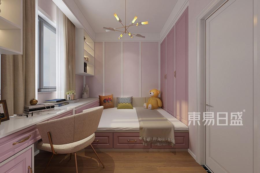 中海寰宇天下三室两厅轻奢风格儿童房装修效果图@太原东易日盛