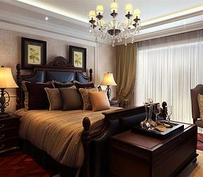 金达园现代风格卧室装修效果图