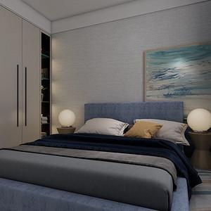 新世界花园-卧室装修效果图