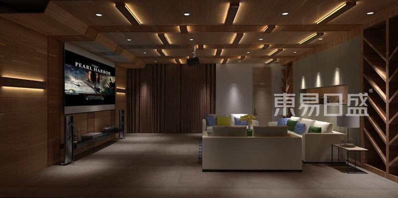 东南亚风格-影音室