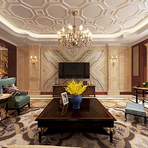 客厅新古典风格装修案例图